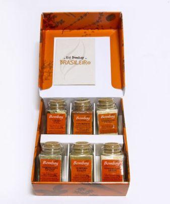 Kit Brasileiro de temperos Bombay Herbs & Spices R$ 119,00